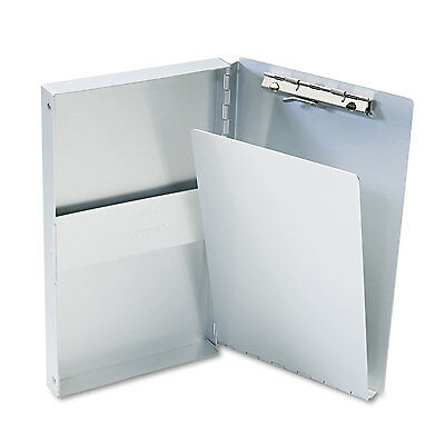 "Saunders Snapak Aluminum Side-Open Forms Folder 3/8"" Clip 5 2/3 x 9 1/2 Sheets"