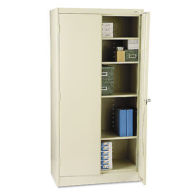 "Tennsco 72"" High Standard Cabinet 36w x 18d x 72h Putty 1470PY"