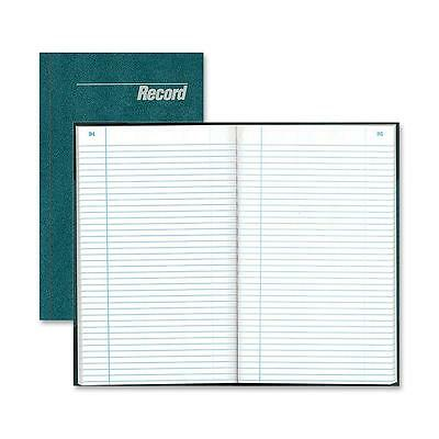 """Rediform Record Book Record-Ruled 150 Pages 12-1/4""""x7-1/4"""" Blue 56011"""