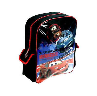 New Official Cars Disney Boys Kids Sports Backpack Rucksack School Travel Bag