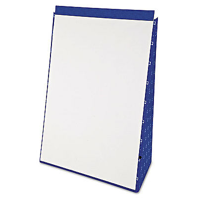 Ampad Tabletop Flip Chart Easel Unruled 20 x 28 White 20 Sheets 24022