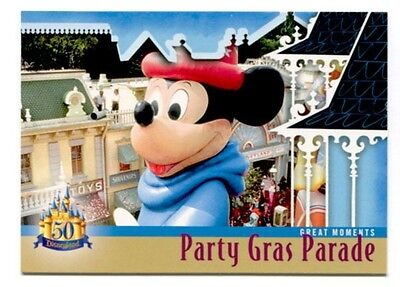 Disneyland 35th Year Party Gras Parade 50th Anniversary Trading Card # DL-114