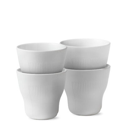 White Elements Thermobecher 4er Set Royal Copenhagen