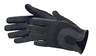 Horse Riding Gloves Ladies Dublin Fabric Shires Gloves Leather Equestrian SALE!!