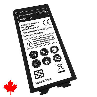 LG G5 H850 Replacement Battery BL-42D1F 2800mAh