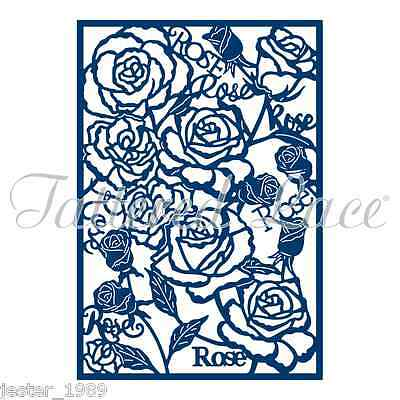 Tattered Lace Essentials Die - Rose Panel - ETL127
