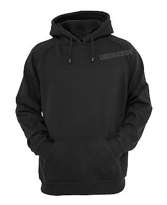Unisex /Women Pullover Hooded Sweatshirt Hoodie Jumper Basic S-6XL - Black Red