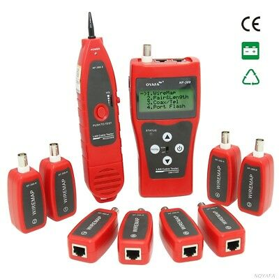 Network coax cable tester NF-388 Handheld Cable Tester Network cable