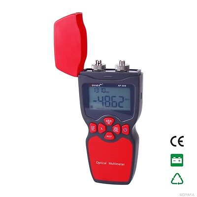 NF-909 2 IN 1 Optical Light Source Optical Fiber Tester Visual Fault Locator