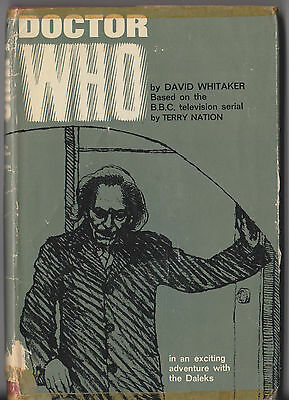 Rare: original Muller edition of Dr Doctor Who [and...the Daleks] 1960s, hd dj