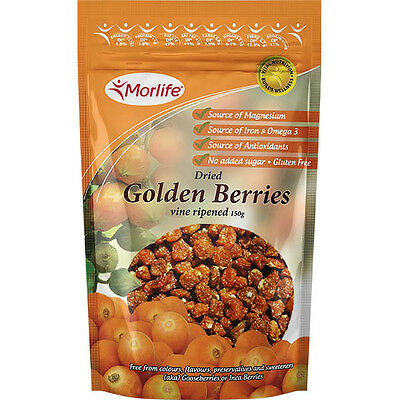 Morlife Dried Golden Berries 150g