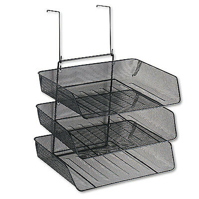 Fellowes Mesh Partition Additions Three-Tray Organizer 11 1/8 x 14 x 14 3/4