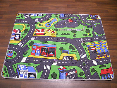 Non Slip Kids Road Sale Play Mat Washable Rugs Bedroom Clearance  Sale Car Rug