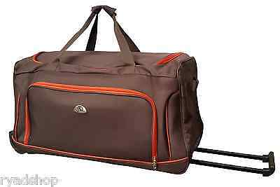 Valise Sac De Voyage Taille Cabine Avec Roues A Roulettes Trolley Bagage A Main