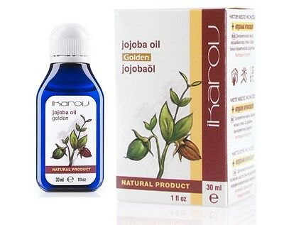 100% Pure Natural Jojoba Oil 30ml Ikarov Essential Oil