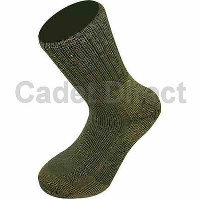 Highlander Taskforce Sock for Cold Weather Military and Cadets (UK Foot Sizes 3