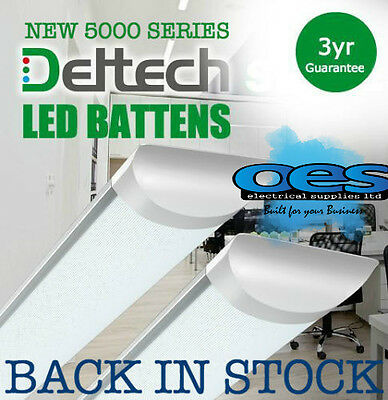 Deltech Led Batten Strip Lights 2Ft-6Ft 20W-60W Long Life Led Tube Lamp