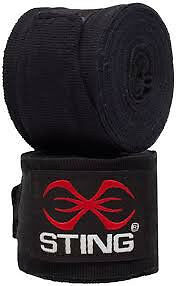New Sting Hand Wraps - Red or Black