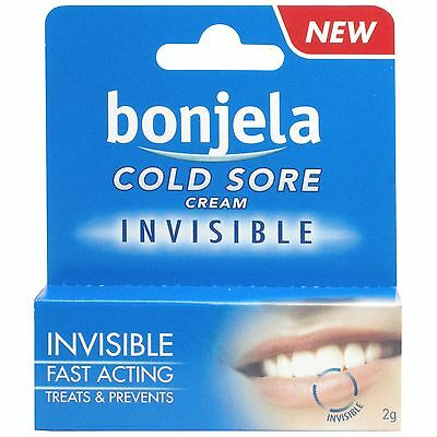 Bonjela Cold Sore Invisible Cream - 2G