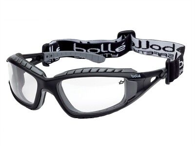 Bolle Tracker 2/II Safety Glasses - Clear Lens - BOLTRACPSI