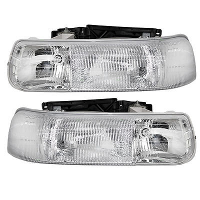 windsor 2002 2003 2004 pair front head lights lamps camelot 2003 2004 pair headlights head lights front lamps rv set new