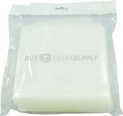 120g Clear CPP Plastic Sleeve with Flap - 1100 Pack