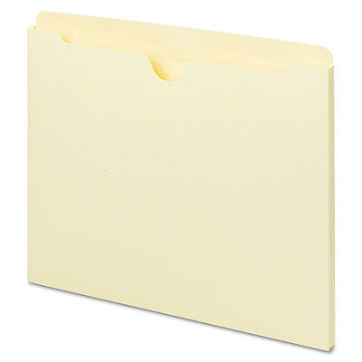 Universal One Manila File Jackets with Reinforced Tabs Flat Letter 100/Box 73300