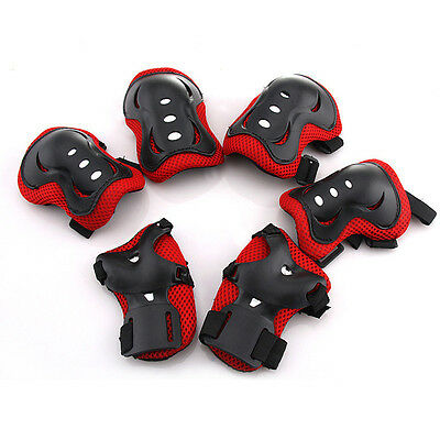 Kids Elbow Knee Wrist Protective Guard Safety Gear Pads For Skate Bicycle Sports