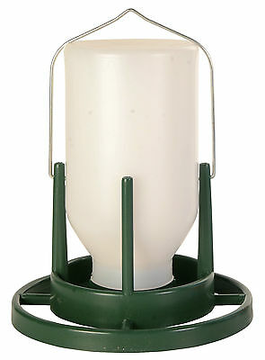 Bird Aviary Food Dispenser & Large Landing Surface Keeps Food Clean & Dry 1 Ltr