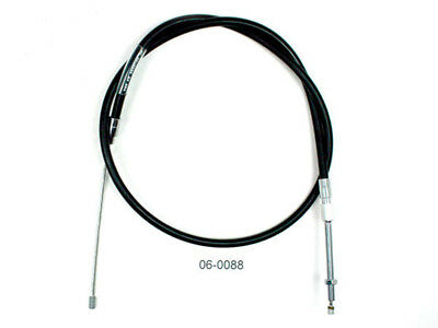 Motion Pro - 06-0088 - Black Vinyl Terminator LW Clutch Cable - Standard Length