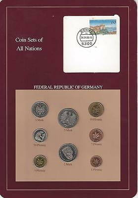 Coin Sets of All Nations - Germany, Federal Republic