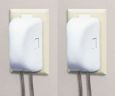 double-touch plug n' outlet cover