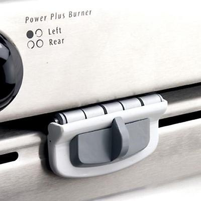 Oven front lock