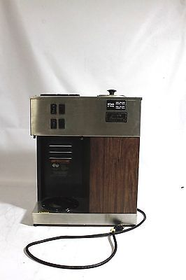 BUNN Coffee Brewer VPR 12-Cup Commercial Pourover Machine Pour-Omatic 2 Warmers