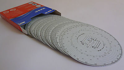 3 x Box of 100 Tacho discs for trucks wagons lorrys - Tachograph charts cards
