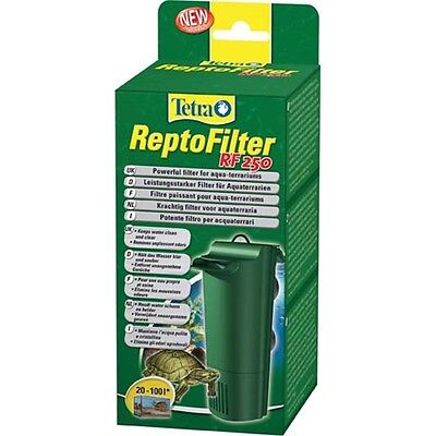 NEW Tetra Repto Filter RF 250 Vivarium Terrarium Turtles Internal Reptofilter