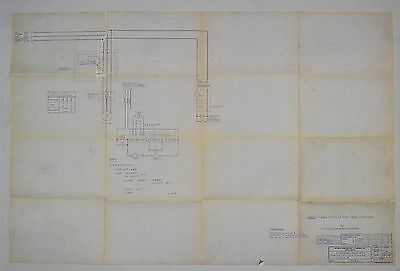 Ex-Cell-O Electrical Schematic For 602 Milling Machine Class B #52-14265 #rr879