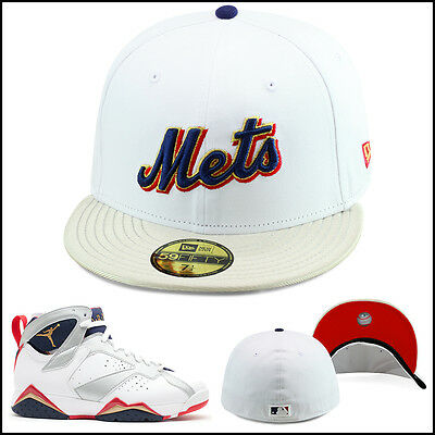 7c76f45aab8c8c ... netherlands new era 59fifty new york mets fitted hat for jordan 7  olympic tinker alternate ee5e9 ...
