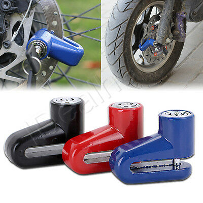 US New Security Anti-theft Heavy Duty Moto Moped Scooter Disk Brake Rotor Lock