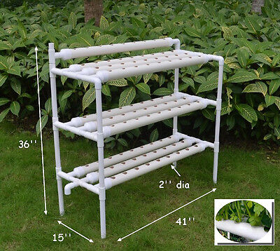 3-layer Hydroponic Site Grow Kit Ebb and Flow Deep Water Culture Garden Canada