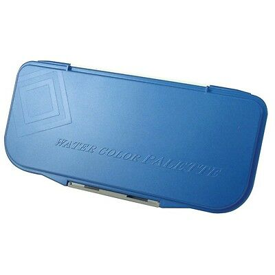 Mijello Fusion Leakproof/Airtight Watercolor Palette 18 Well MWP-3018 Blue