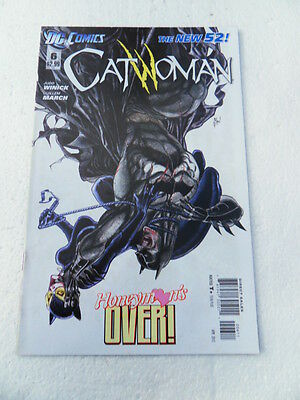 Catwoman 6. DC 2012 -  FN / VF