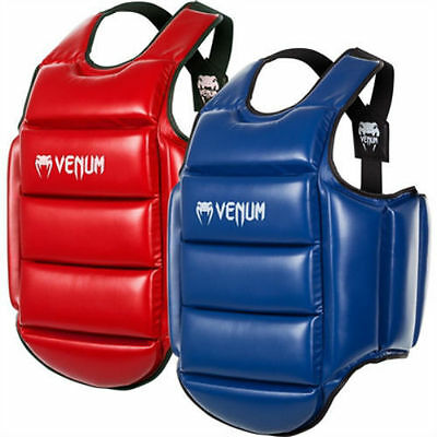 Venum Wkf Approved Karate Reversible Body Protector Blue/red - Mma