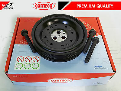For Ford Mondeo Transit Jaguar X Type 2.0 Tdi Tdci Diesel Crank Pulley & Bolts