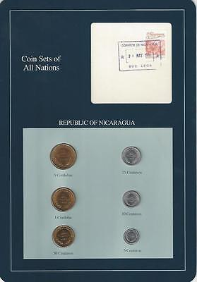 Coin Sets of All Nations - Nicaragua