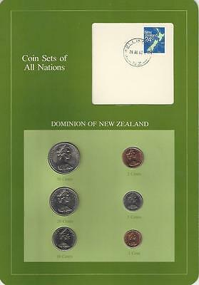 Coin Sets of All Nations - New Zealand