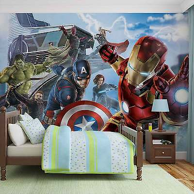 WALL MURAL Marvel Avengers Team XXL PHOTO WALLPAPER (3363DC)