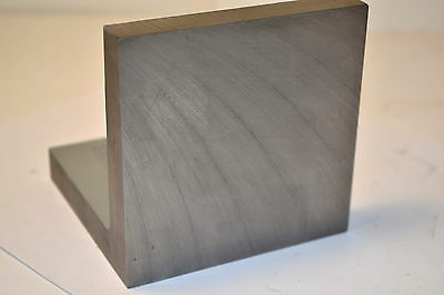 "NOS BUSCH USA #2404 Cast Iron Ribbed Machinists Set-Up Angle Plate 4"" x 4"" x 4"""
