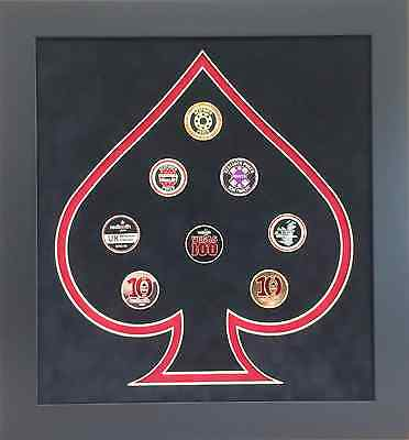 Redtooth Poker 10th Anniversary Card Guard Display