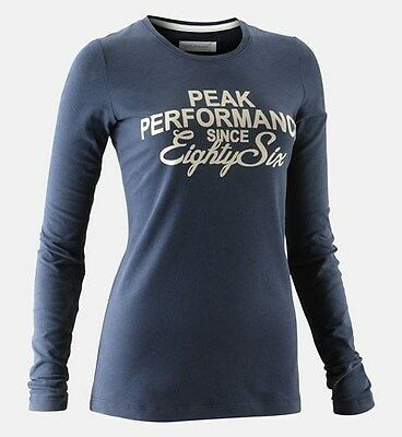 PEAK PERFORMANCE -50%, Tee Shirt Damen - navy,Gr. M, TOPAKTION!!!!